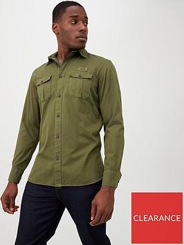 selected-homme-lane-shirt-khaki