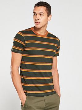 selected-homme-bruno-o-neck-t-shirt-greencaramel