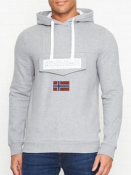 napapijri-burgee-2-logo-overhead-hoodienbsp--grey