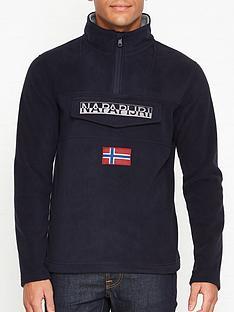 napapijri-teide-2-logo-fleece-overhead-hoodienbsp--navy