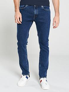 selected-homme-leon-slim-leg-jeans-blue-wash