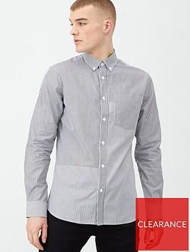 selected-homme-gilli-long-sleeve-shirt-black-stripe