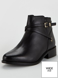 dune-london-wide-fit-peper-chain-trim-ankle-boots-black