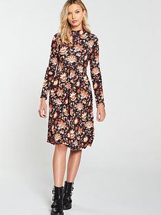 v-by-very-paisley-high-neck-swing-dress-multi