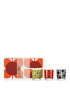 orla-kiely-house-square-flower-mini-candle-set
