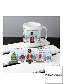 personalised-the-nutcracker-christmas-mug-and-chocolate-set