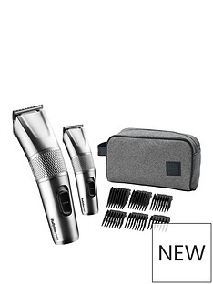 BaByliss BaByliss Men Steel Edition Hair Clipper Gift Set 7755GU