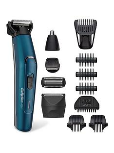 BaByliss BaByliss Men 12 in 1 Japanese Steel Face & Body Kit 7861U