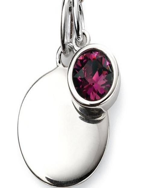 the-love-silver-collection-birthstone-silver-engravable-pendant-necklace