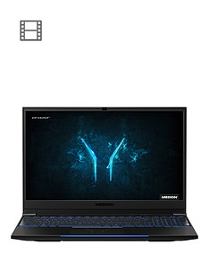 medion-erazer-x15803-156-inch-fhd-144hz-intel-core-i7-8gb-ram-1tb-hdd-256gb-ssd-rtx-2060-graphics-gaming-laptop-with-mechanical-keyboard