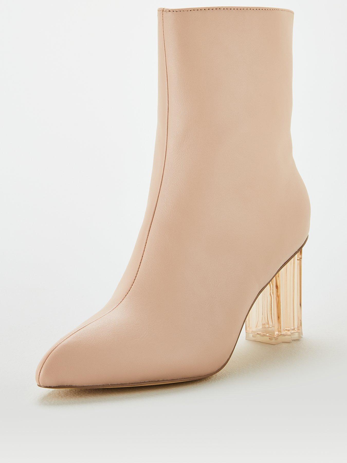 | Greta | Pointy Toe T Strap Low Cuban Heel