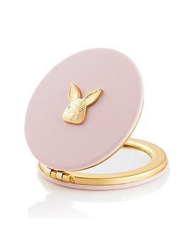 olivia-burton-3d-bunny-compact-mirror-blossom-gold