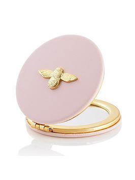 olivia-burton-3d-bee-compact-mirror-blossom-gold