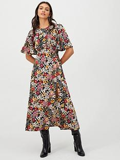 v-by-very-kimono-sleeve-split-front-midaxi-dress-floral