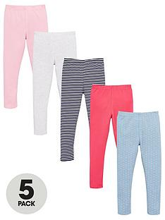 v-by-very-girls-5-pack-printed-leggings-multi