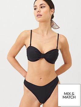 v-by-very-mix-amp-match-bandeau-bow-detail-bikini-top-black