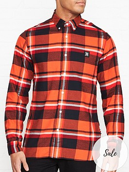 tommy-hilfiger-lewis-hamilton-check-shirt-red