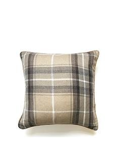 catherine-lansfield-brushed-heritage-check-cushion