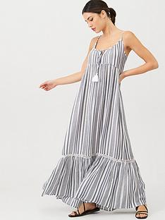 v-by-very-tassel-stripe-maxi-dress-stripe