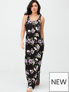 v-by-very-channel-waist-jersey-maxi-dress-floral-print