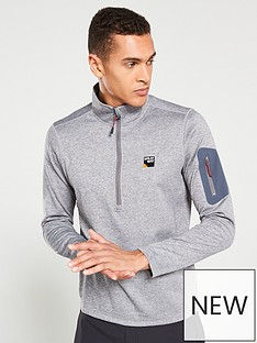 sprayway-saul-12-zip-fleece-grey