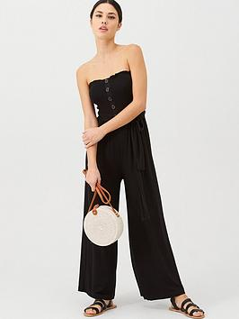 v-by-very-jersey-shirred-crop-beach-jumpsuit-black