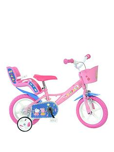 Dino Bikes 124RL-PIG Peppa Pig Bicycle, Pink, 12-Inch Best Price and Cheapest