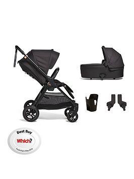 mamas-papas-mamas-papas-flip-xt3-4-piece-bundle-pushchair-carry-cot-adaptor-and-cupholder-blackcopper