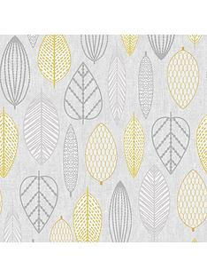 superfresco-easy-scandi-leaf-wallpaper-ndash-yellow