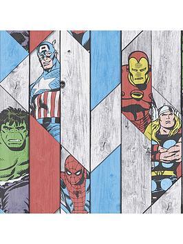 marvel-wood-panel-wallpaper