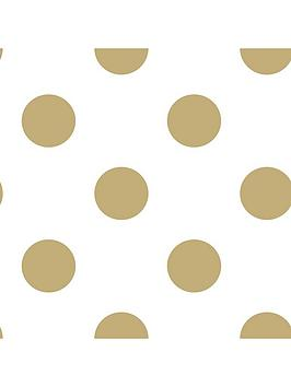 superfresco-easy-dotty-gold-wallpaper
