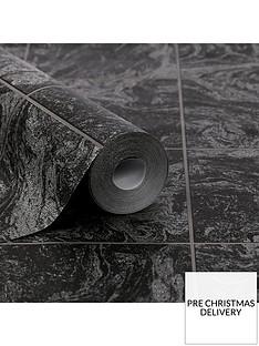 contour-glitter-marble-tile-black-wallpaper