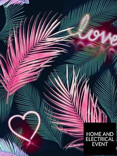 fresco-neon-love-wallpaper