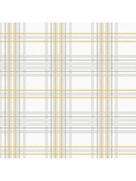 superfresco-easy-country-tartan-greyyellow-wallpaper