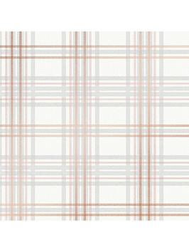 superfresco-easy-country-tartan-blush-pink-wallpaper