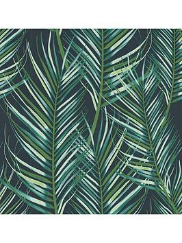 superfresco-easy-palm-leaves-green-wallpaper