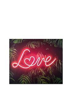 graham-brown-tropical-neon-love-canvas