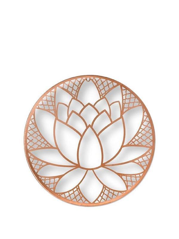 Graham Brown Lotus Blossom Metal Wall Art Very Co Uk