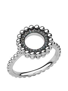 links-of-london-effervescence-sterling-silver-blue-diamond-ring