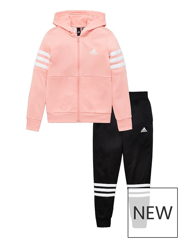 Don't Miss These Deals: Adidas Baby Girl's 2 Piece Zip Front
