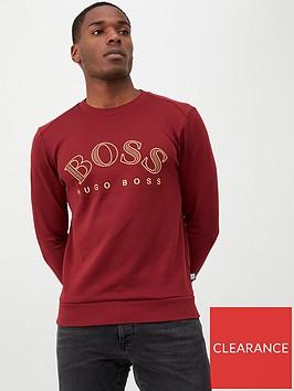 boss-salbo-large-logo-crew-sweatshirt-burgundy