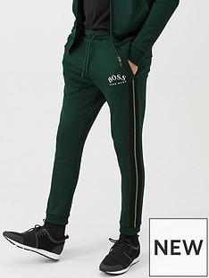 boss-hadiko-cuffed-sweat-pants-dark-green