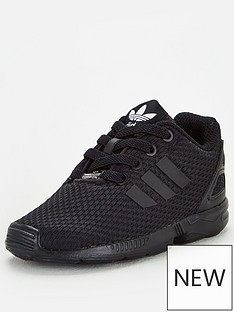 adidas-originals-zx-flux-el-infant-trainers-black