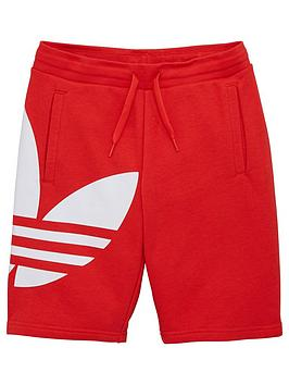 adidas-originals-bg-trefoil-shorts-red