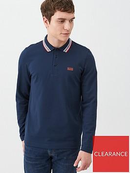 boss-plisy-long-sleeved-polo-shirt-navy