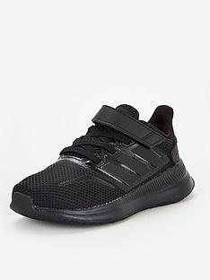 adidas-runfalcon-childrens-trainers-core-black