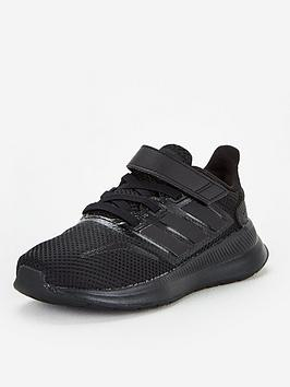 adidas-runfalcon-childrens-trainers-core-black