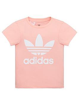 adidas-originals-childrens-trefoil-short-sleeve-t-shirt-pink