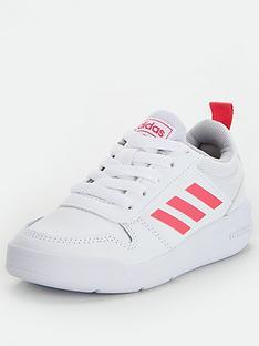 adidas-tensaur-childrens-trainers-whitepink