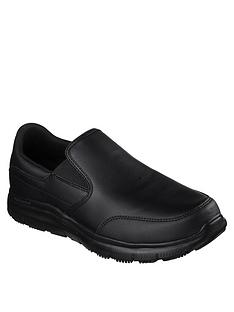 skechers-flex-advantage-bronwood-slip-on-shoe-black